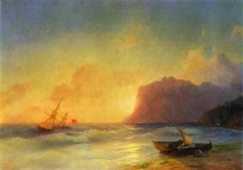 Ivan Aivazovsky. The Sea. Koktebel.