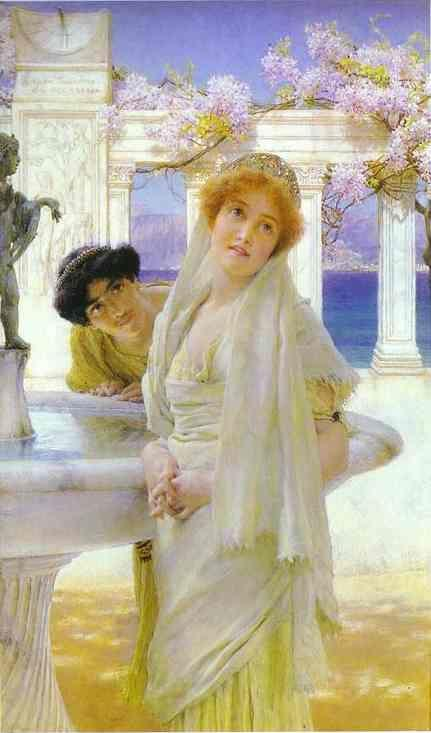 Sir Lawrence Alma-Tadema. A Difference of Opinion.