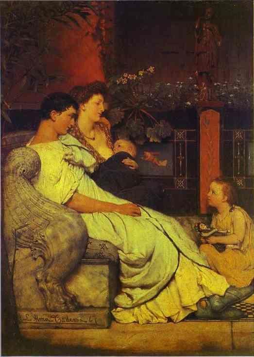 Sir Lawrence Alma-Tadema. A Roman Family.
