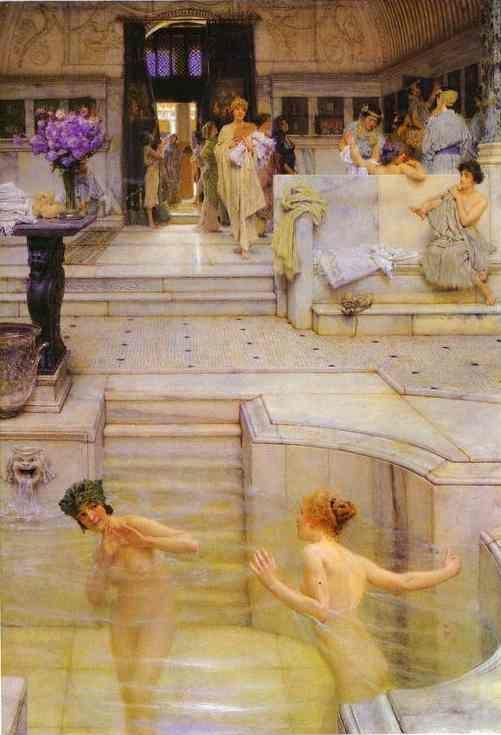 Sir Lawrence Alma-Tadema. A Favourite Custom.