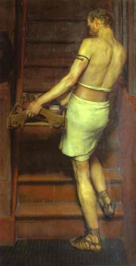 Sir Lawrence Alma-Tadema. Roman Potter.