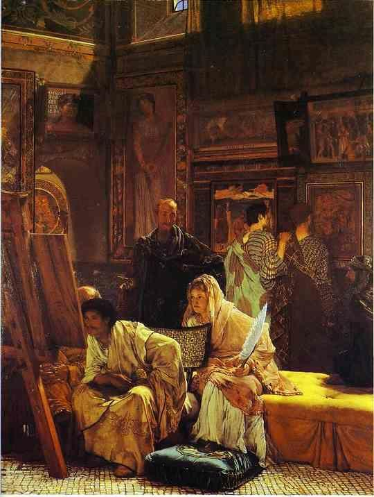 Sir Lawrence Alma-Tadema. A Picture Gallery.