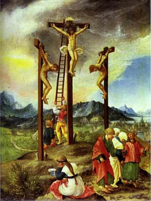 Albrecht Altdorfer. The Crucifixion.
