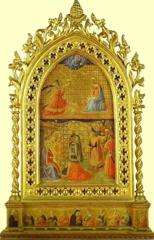 Fra Angelico. Annunciation and Adoration of the Magi.