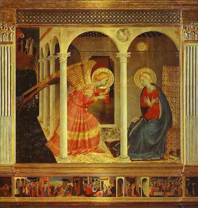 Fra Angelico. Annunciation.