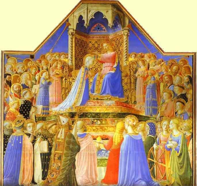 Fra Angelico. The Coronation of the Virgin.