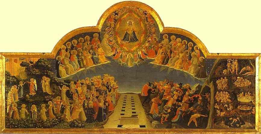 Fra Angelico. The Last Judgement.