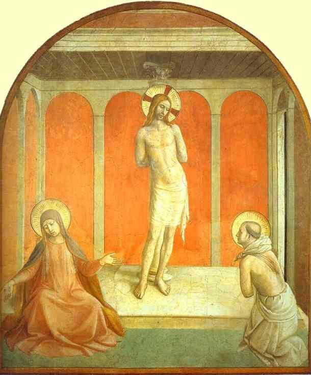 Fra Angelico. Flagellation.
