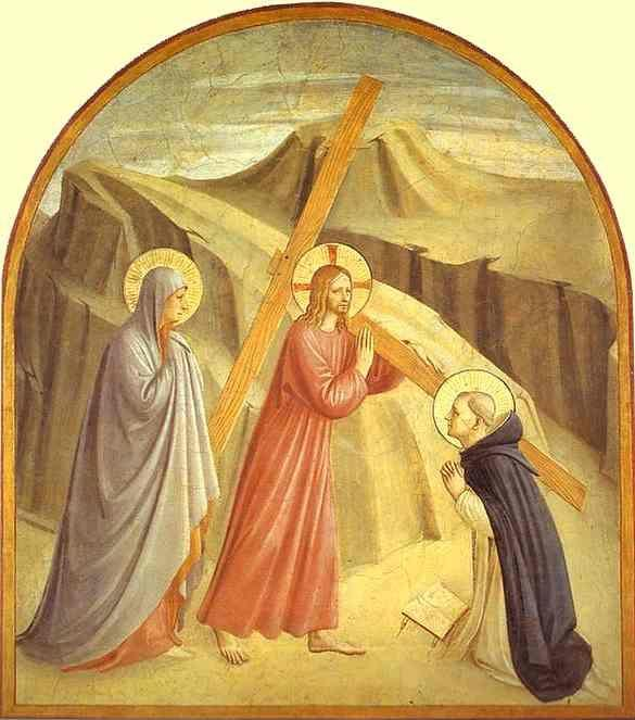 Fra Angelico. Christ Carrying the Cross.