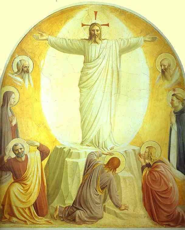 Fra Angelico. Transfiguration of Christ.