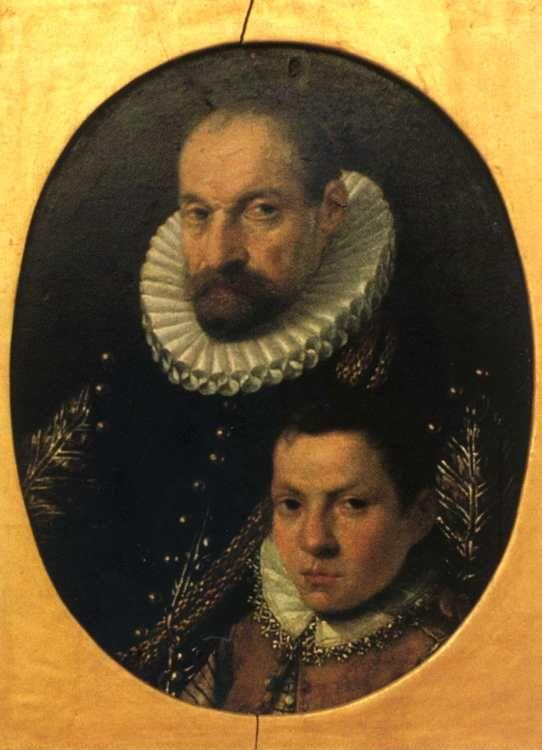 Sofonisba Anguissola. Portrait of a Nobleman and His Son.