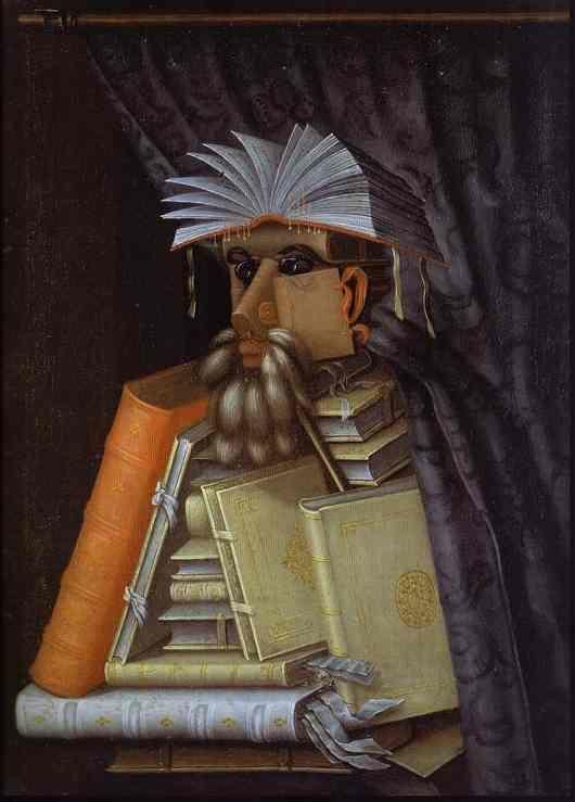 Giuseppe Arcimboldo. The Librarian.