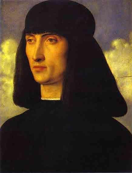 Giovanni Bellini. Portrait of a Man.