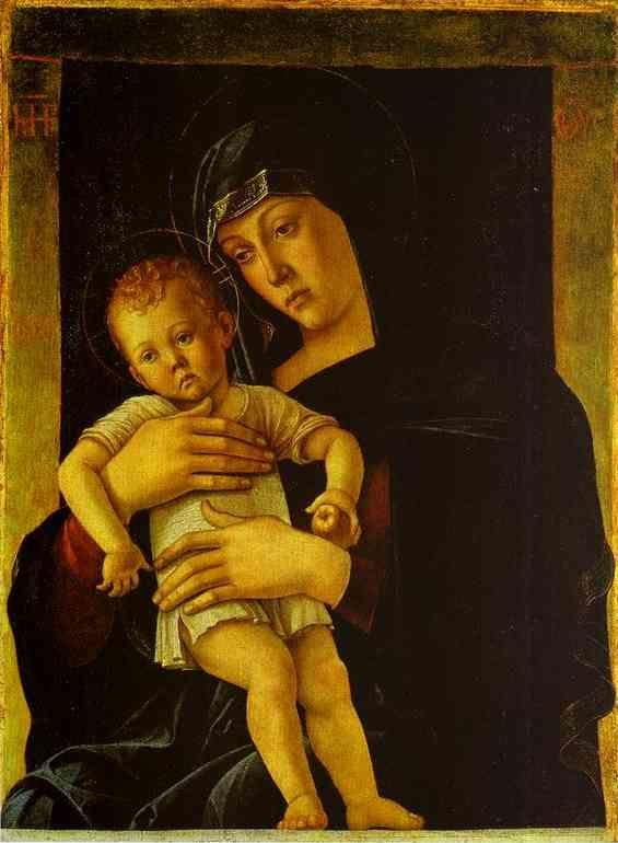 Giovanni Bellini. Greek Madonna.