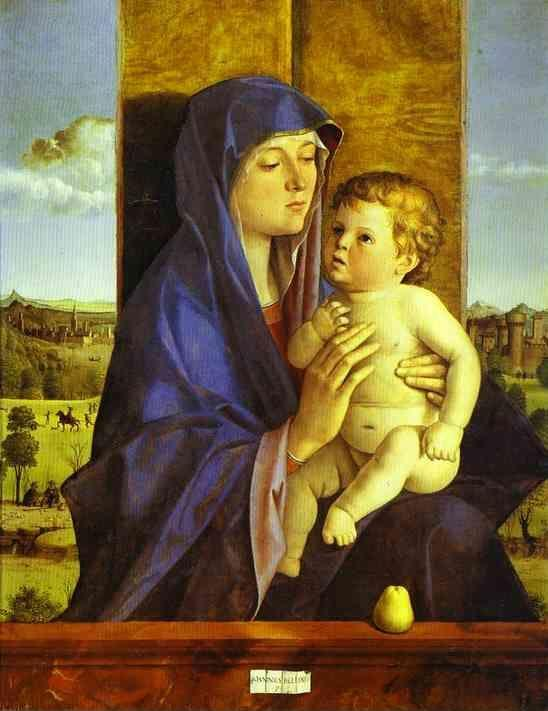 Giovanni Bellini. Madonna and Child.