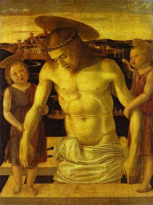 Giovanni Bellini. Dead Christ Supported by Angels.