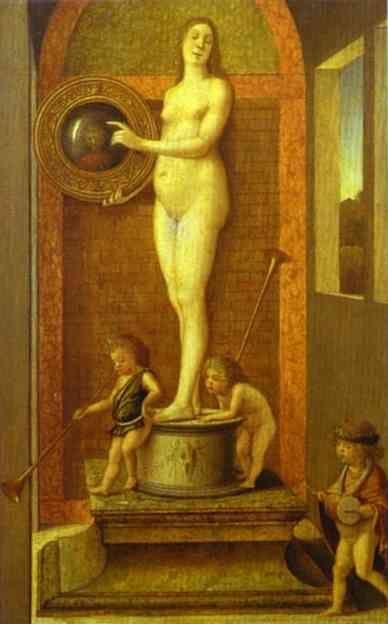 Giovanni Bellini. Allegory of Prudence.