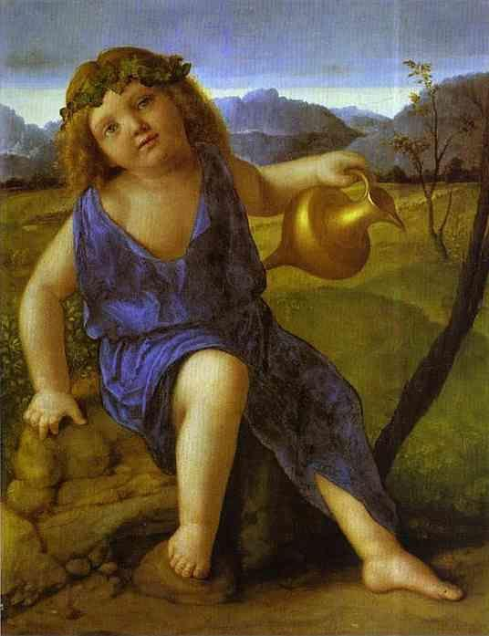 Giovanni Bellini. The Infant Bacchus.