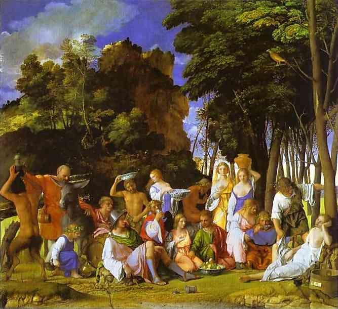Giovanni Bellini. The Feast of the Gods.