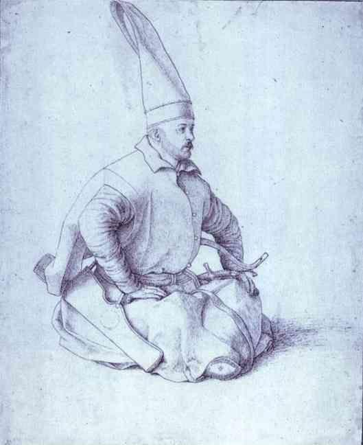 Gentile Bellini. A Turkish Janissary.