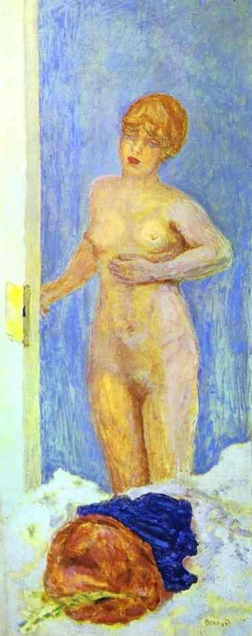 Pierre Bonnard. Nude and Fur Hat.