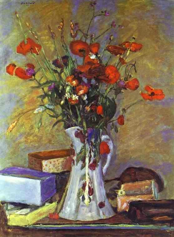 Pierre Bonnard. Poppies.