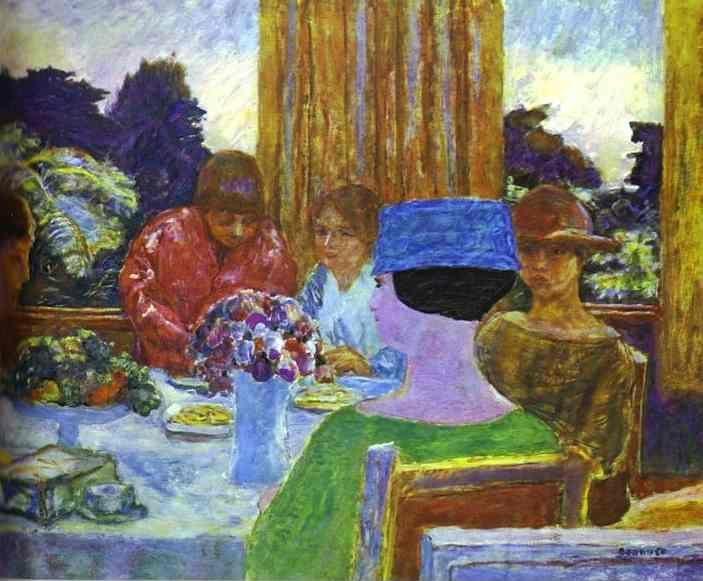 Pierre Bonnard. The Tea.