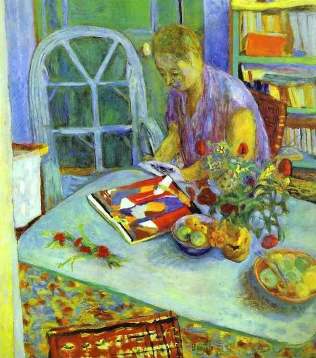 Pierre Bonnard. A Woman in a Room.