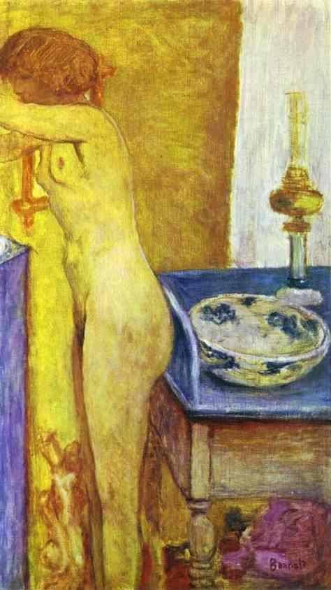 Pierre Bonnard. Nude at the Toilet Table.