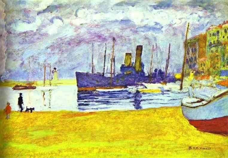 Pierre Bonnard. The Port in Cannes.