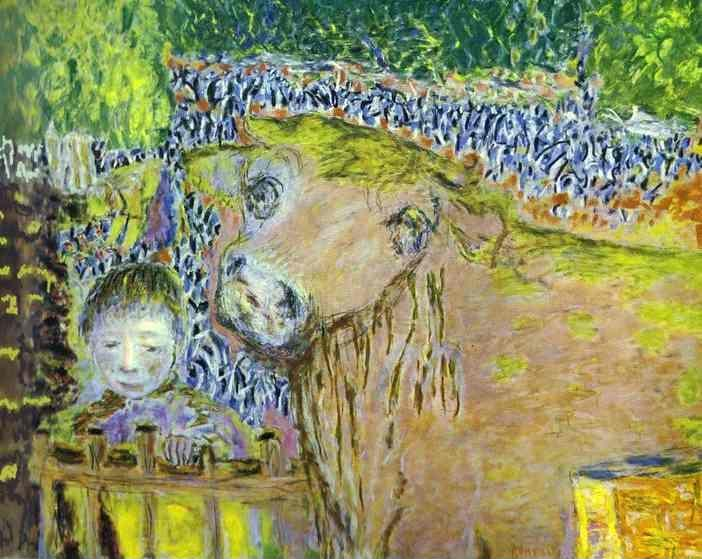 Pierre Bonnard. Bull and Child.