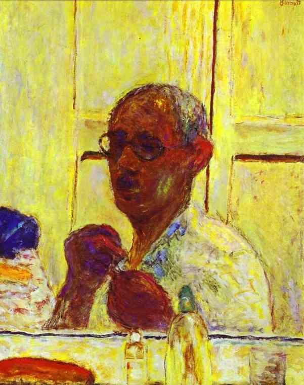 Pierre Bonnard. The Last Self-Portrait.