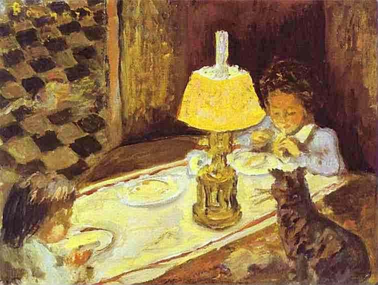 Pierre Bonnard. The Lunch of the Little Ones.
