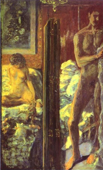 Pierre Bonnard. Man and Woman.