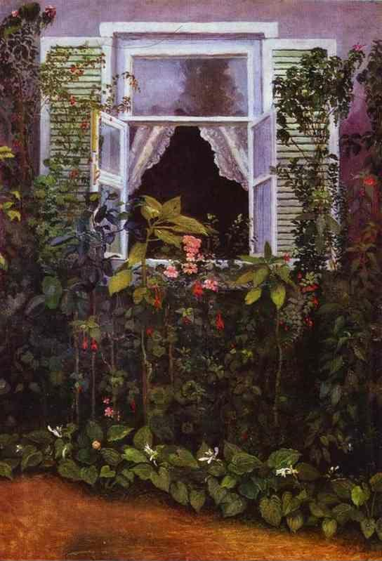 Victor Borisov-Musatov. Window.
