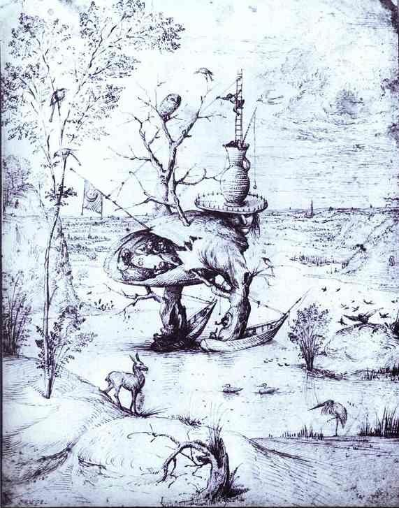 Hieronymus Bosch. The Tree Man.