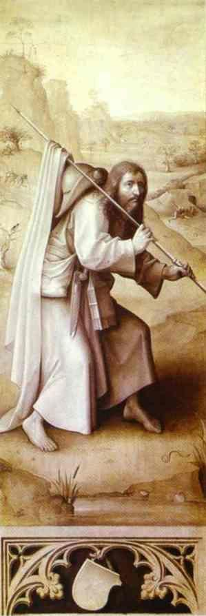Hieronymus Bosch. St. James the Greater.