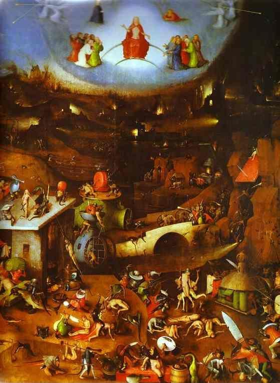 Hieronymus Bosch. Last Judgement.