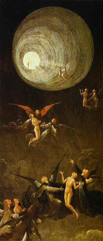 Hieronymus Bosch. Ascent of the Blessed.