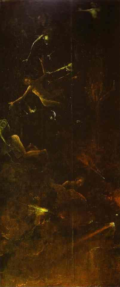 Hieronymus Bosch. Fall of the Damned.