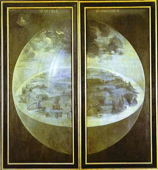 Hieronymus Bosch. Creation of the World.