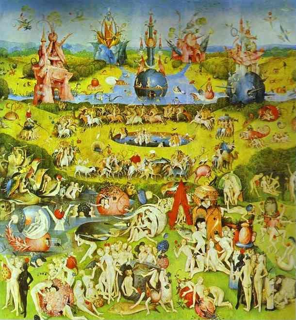 Hieronymus Bosch The Garden Of Earthly Delights Olga 39 S