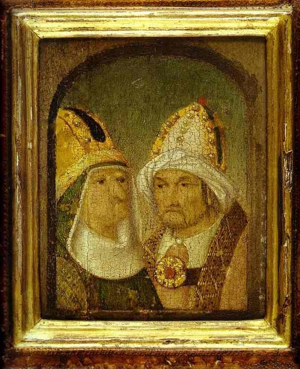 Hieronymus Bosch. Two Male Heads.