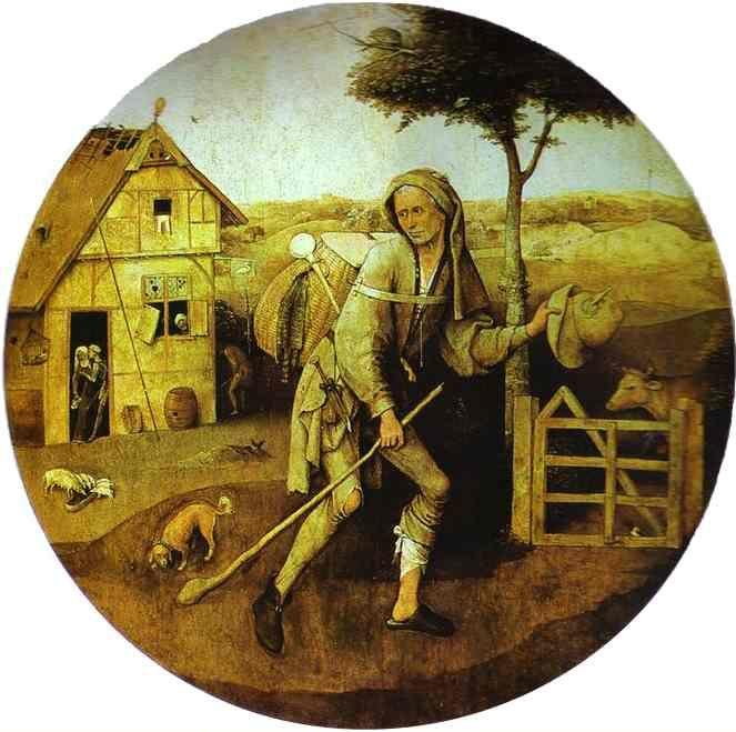 Hieronymus Bosch. The House of Ill Fame.