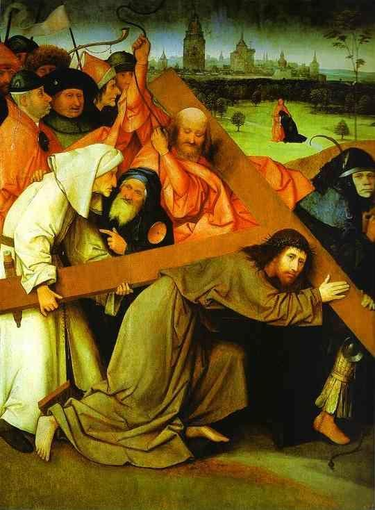 Hieronymus Bosch. Christ Carrying the Cross.