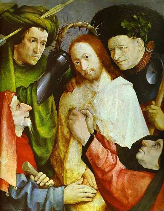 Hieronymus Bosch. Christ Crowned with Thorns.