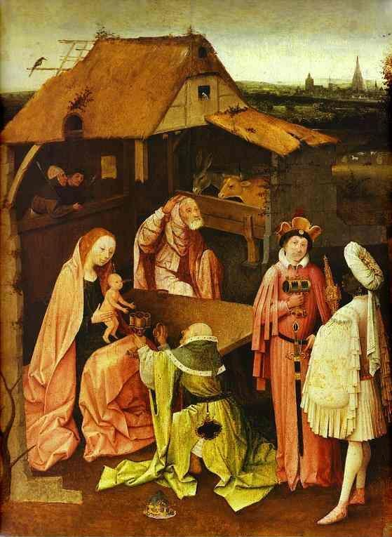 Hieronymus Bosch. Epiphany.