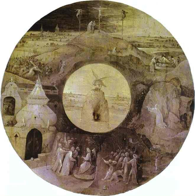 Hieronymus Bosch. Scenes from the Passion of Christ and the Pelican with Her Young.