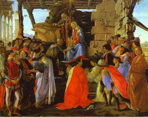 Alessandro Botticelli. Adoration of the Magi.