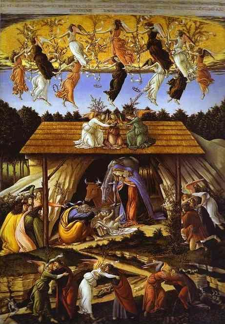 Alessandro Botticelli. Mystic Nativity.